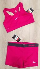 NikePro SPorts Bra Hot Pants Sexy Workout Gym Yoga Running L 458653 375833-660
