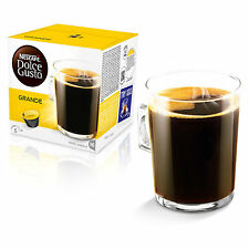 Dolce Gusto Grande Coffee (3 Boxes,Total 48 Capsules ) 48 Servings