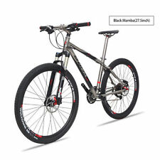 SAVA 27.5 Black Mamba MTB Mountain Bike Bicycle Titanium Frame 16 inch 3*9 Speed