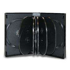 NEW! 1 DVD Case 12-Disc Black 39mm - Holds 12 Discs - Twelve