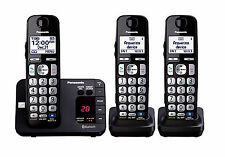 Panasonic KXTGE260 DECT 6.0 Digital 3 Cordless Phone Digital Answering System