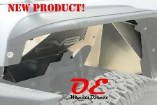 NEW DV8 Inner Fender Liners Front Pair Raw JK Jeep Wrangler 07-16 Made in USA