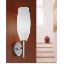 NEU EGLO Design Glas / Metall Wandleuchte Wandlampe Lampe Leuchte e86698