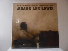 MEADE LUX LEWIS - THE BLUES PIANO - RIVERSIDE RECORDS-RPL 402 - DEEP GROOVE