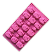 Hello Kitty Silicone Mold Pan 15 Cavities - NEW