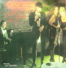 SAINT TROPEZ-BELLE DE JOUR LP VINILO 1979 DOUBLE COVER SPAIN GOOD COVER-