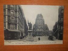 CPA : TOUT PARIS (XIIIè) Statue de Jeanne d' Arc à la rue Jeanne d'Arc