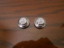 CAMPAGNOLO C RECORD CORSA BIKE PEDAL ALLOY DUST CAPS PAIR! VINTAGE NOS NEW! RARE