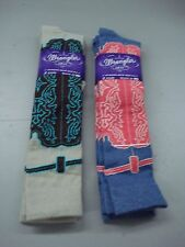 NWT Women's Wrangler Western Knee Socks Shoe Size 6-9 Multi 4 Pair #170D