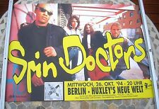 THE SPIN DOCTORS 1994 tour poster 34 x 23  original