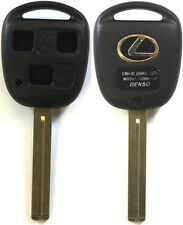 New Remote Key Keyless Replacement Case 3 Button Long Blade Shell For Lexus