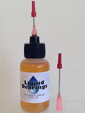 Liquid Bearings 100%-synthetic oil for Rollerblades & skates, makes them FASTER!