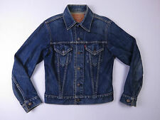 C-085 MENS LEVI'S Big E Jean Jacket STONE Wash Denim western 70's 71557-02 SZ 34