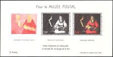 France 1966 Postal Museum/de la Tour/Artists/Art/Paintings imperf m/s (n43589)