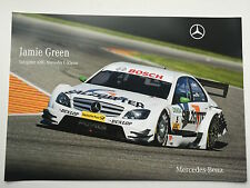Jamie Green Unsigned AMG-Mercedes Poster DTM.