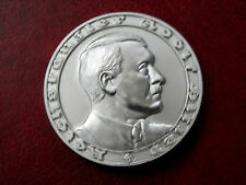 WW2 1933 ADOLF HITLER GERMAN EXONUMIA  REICHSMARK COIN  SILVERED