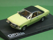Opel Commodore B GS/E Coupe 1:43 Ixo Oldtimer Modellauto Opel-Collection