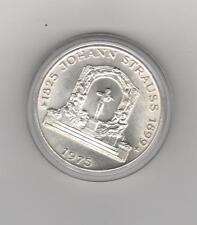 100 Schilling Strauss 1975 BFR/STGL   ab 5 auktionen portofrei