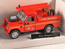 LAND ROVER S3 109 Fire Brigade 1/43 scale model by Cararama