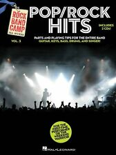 Rock Band Camp Volume 3 Pop Rock Hits Guitar Drums Keyboard Music Book & CD