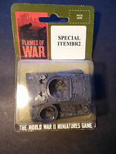 Flames of War British wrecked Sherman objective