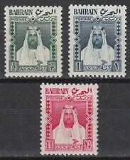 Bahrain 1953 ** Mi.93/95 SG L1/3 Local Definitives Freimarken