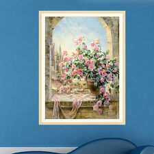 Embroidery DIY 5D Diamond Painting Flower Pot Cross Stitch Home Decor Craft