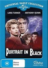Portrait in Black (Universal Vault Collection) NEW R4 DVD