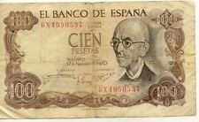 ESPAGNE SPAIN ESPANA 100 PTS 1970 état voir scan 537