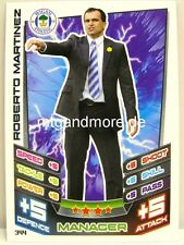Match Attax 2012/13 Premier League - #344 Roberto Martinez - Wigan Athletic