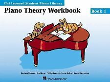 Piano Theory Workbook Book 1: Hal Leonard Student Piano Library