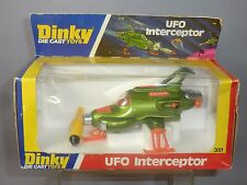 "DINKY TOYS MODEL No.351 U.F.O. INTERCEPTOR  ""HANGING BOX"" VERSION  VN MIB"