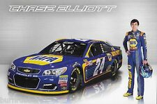 "2017 CHASE ELLIOTT ""NAPA"" #24 MONSTER ENERGY NASCAR CUP POSTCARD"