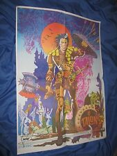 TALON THE TIMELESS Signed Vintage 1960's Poster by Jim Steranko ~MARVEL/CONAN