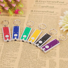 5stk LED Schlüsselanhänger Mini Cute Taschenlampe Lamp Schlüsselleuchte Creative