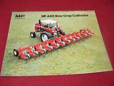 Massey Ferguson 440 Cultivators Dealer's Brochure 848AG 380-35-1