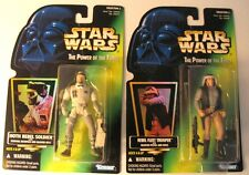 NOS '96 Star Wars POTF Coll#2:HOLOGRAMS Hoth Rebel Soldier & Rebel Fleet Trooper