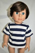 "American Girl Doll Our Generation Journey Girl 18"" Boy Dolls Clothes T-Shirt"
