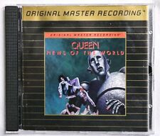QUEEN - News Of The World - MFSL UDCD 588 - 24Kt Gold CD