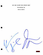 Jay and Silent Bob * KEVIN SMITH & JASON MEWES * Signed Full Movie Script J3 COA