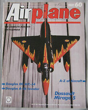 Airplane Issue 60 Dassault Mirage 5 ,Douglas DC-4/C-54, A-26 Invader Cutaway