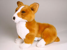 Pembroke Welsh Corgi Puppy by Piutre, Made in Italy, Plush Stuffed Animal NWT