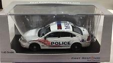 Washington DC Metropolitan Police 2015 Ford Sedan Interceptor FIRST RESPONSE