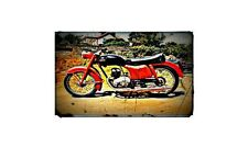 1956 panther Bike Motorcycle A4 Photo Poster