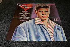 "RICK NELSON GREAT COLOUR POSTER 23"" x 23""  GREAT ITEM SO HARD TO FIND - MINT"
