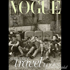 VOGUE Korea July 2015 BIG BANG BIGBANG T.O.P Taeyang G-Dragon Daesung Seungri