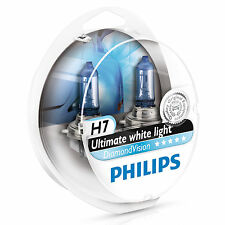 Philips Diamond Vision 5000K H7 Car Headlight Bulbs (Twin Pack of Bulbs)