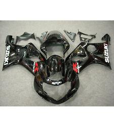 Injection Mold Fairing 2001 2002 For Suzuki GSXR1000 K1 K2 Bodywork Glossy Black