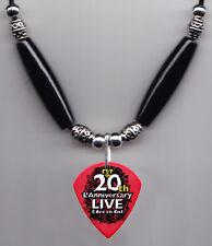 L'Arc-en-Ciel Ken Signature 20th Anniversary Guitar Pick Necklace - 2011 Tour