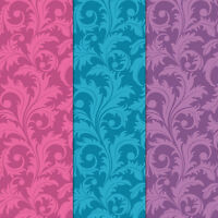 Craft Creations A4 Decorative Card Stock Large Bright Vine Leaf Pattern 240gsm